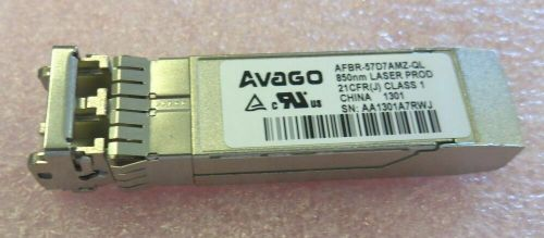 Avago AFBR-57D7AMZ-QL 8Gb/s Fibre Channel SFP Optical Transceiver Module 850nm